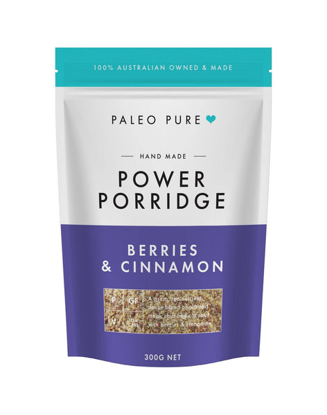 Power porridge with berries & cinnamon 300gm