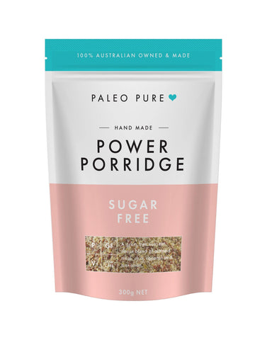 Power porridge sugar free 300gm - PaleoPure