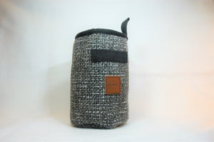 Black and white woven Chalk bag