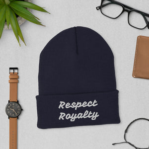 Cuffed Beanie- Respect Royalty - SG Dynasty