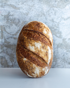Seeded Whole-Wheat Sourdough