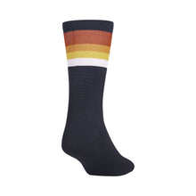 Load image into Gallery viewer, Giro Comp Racer High Rise Sock - Midnight Blue Hrz