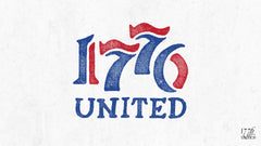 1776 United Retro Logo Wallpaper