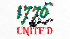 1776 United Christmas Logo Wallpaper