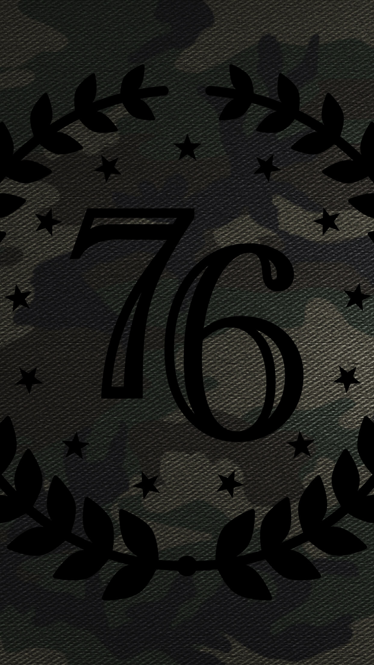 1776 United Camo Mobile Phone Wallpaper