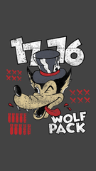 1776 United Wolf Pack Mobile Wallpaper