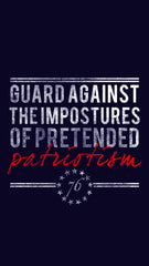 1776 United Guard Against Mobile Wallpaper