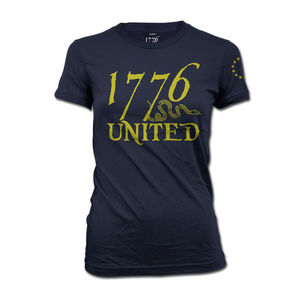1776 United® Logo Tee - Navy - Women's - Shirt - 1776 United