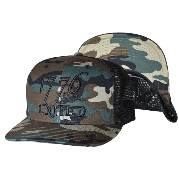 1776 United® Camo Trucker - Hat - 1776 United