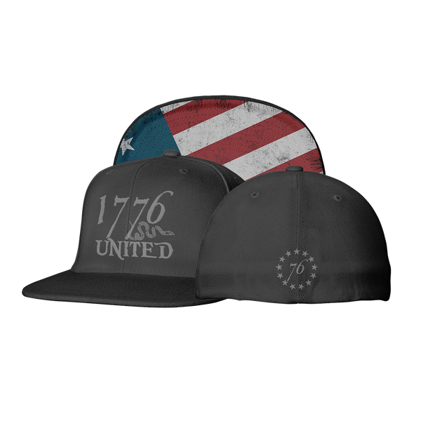 1776 United® Logo Flexfit Betsy Ross Edition - Hat - 1776 United