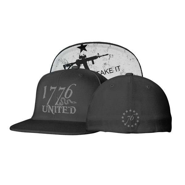1776 United® Logo Flexfit Come and Take it Edition - Hat - 1776 United