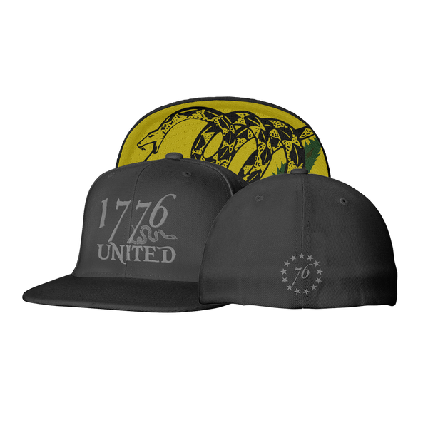 1776 United® Logo Flexfit Don't Tread On Me Edition - Hat - 1776 United