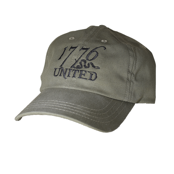 1776 United® Logo Hat - OD Green - Hat - 1776 United