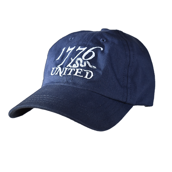 1776 United® Logo Hat - Navy - Hat - 1776 United