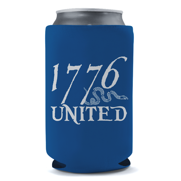 1776 United® Logo Beer Sleeve - Blue - Beer Sleeve - 1776 United