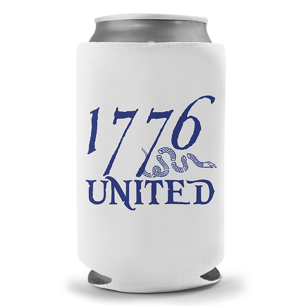1776 United® Logo Beer Sleeve - White