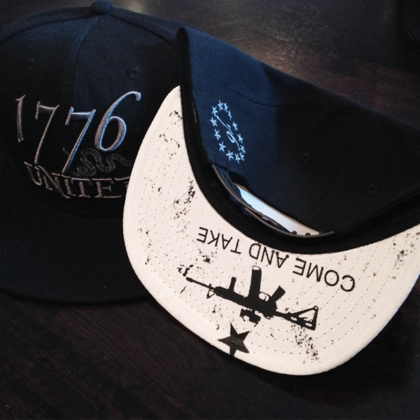 1776 United® Logo Snapback Come and Take it Edition