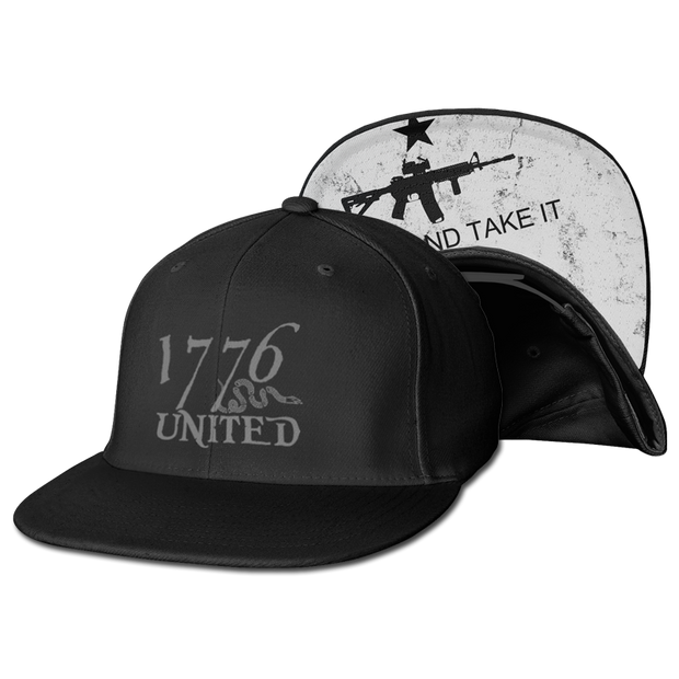 1776 United® Logo Snapback Come and Take it Edition - Hat - 1776 United