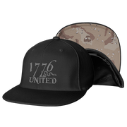 1776 United® Logo Snapback Camo Edition - Hat - 1776 United