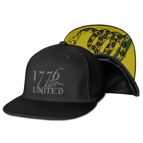1776 United® Logo Snapback Don't Tread On Me Edition - Hat - 1776 United