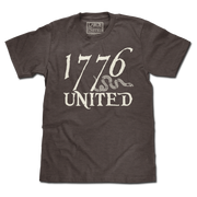 1776 United® Logo Tee - Coffee