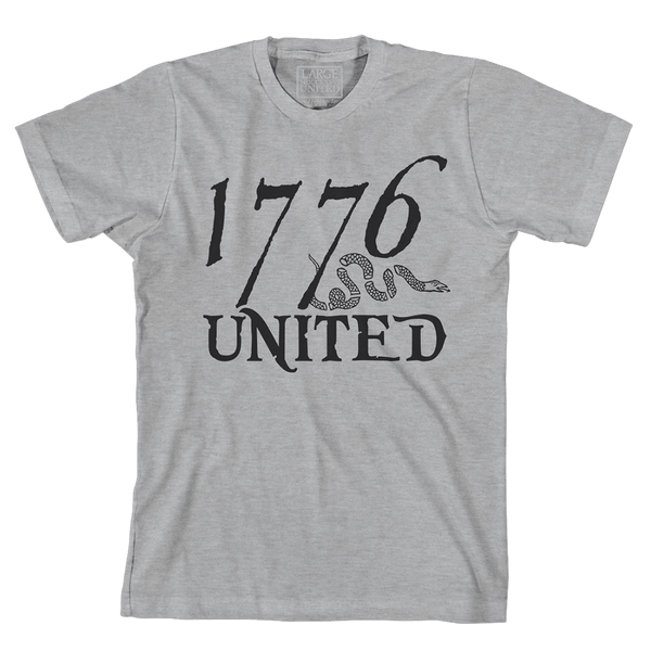 1776 United® Logo Tee - Heather Grey