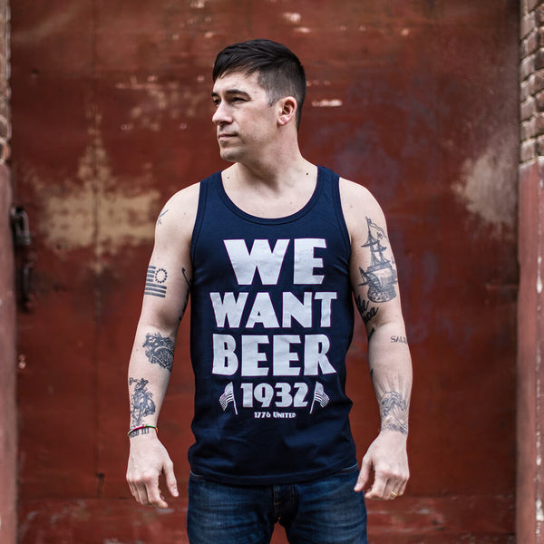 We Want Beer Tank