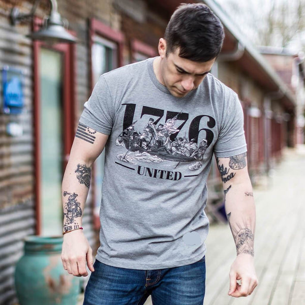 The Crossing Tee - Grey