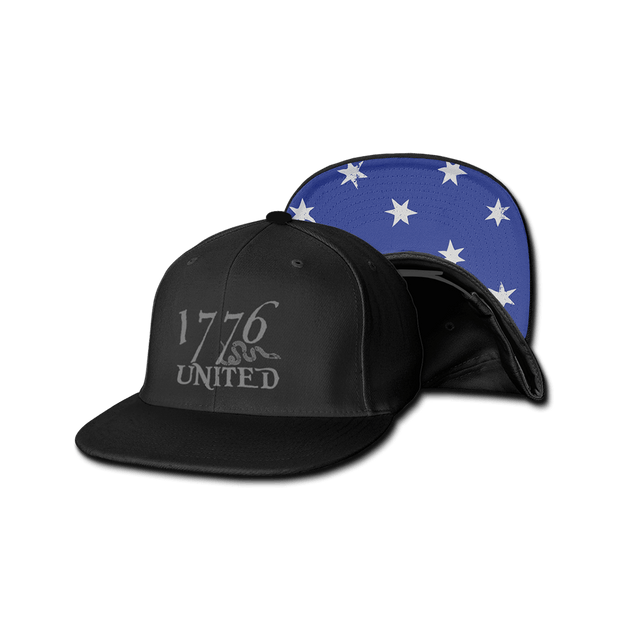 1776 United® Logo Snapback Washington HQ Flag Edition