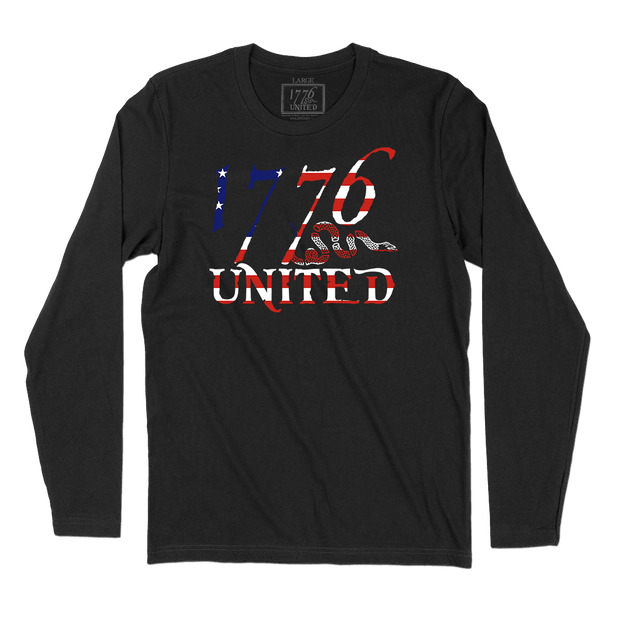 1776 United® Logo Tee - Betsy Ross Edition Long Sleeve