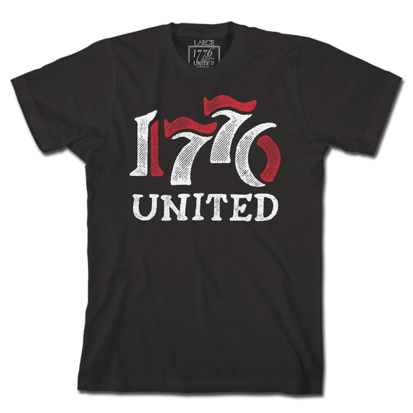 1776 United® Retro Logo Tee - Black