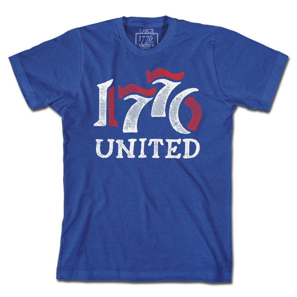 1776 United® Retro Logo Tee - Blue