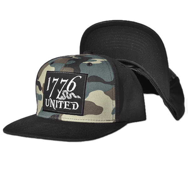 1776 United® Camo Logo Patch Snapback