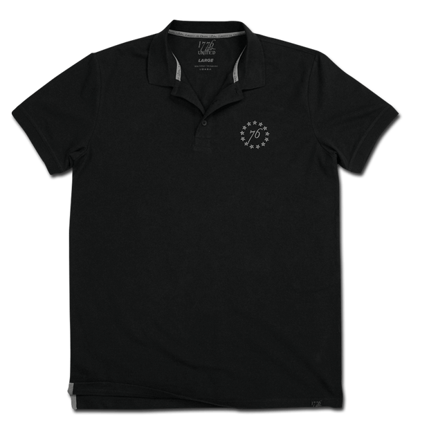 1776 United® Signature Polo - Black