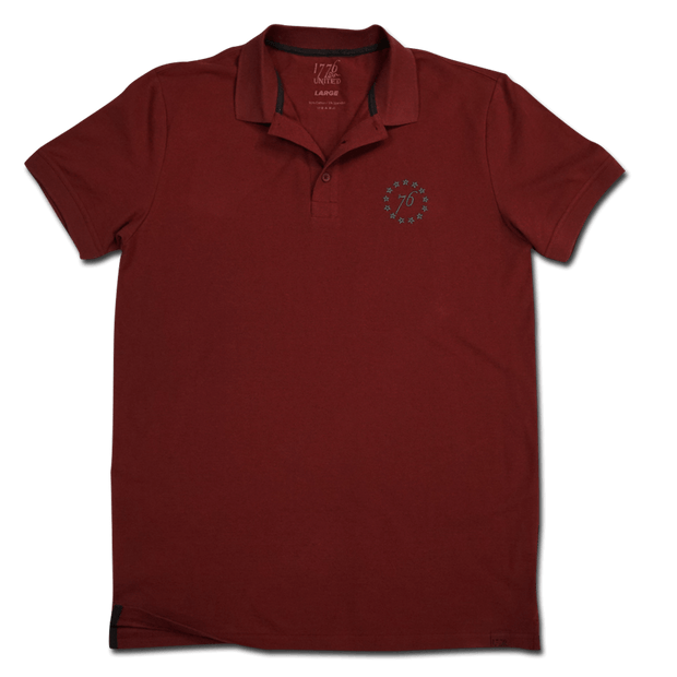 1776 United® Signature Polo - Cardinal