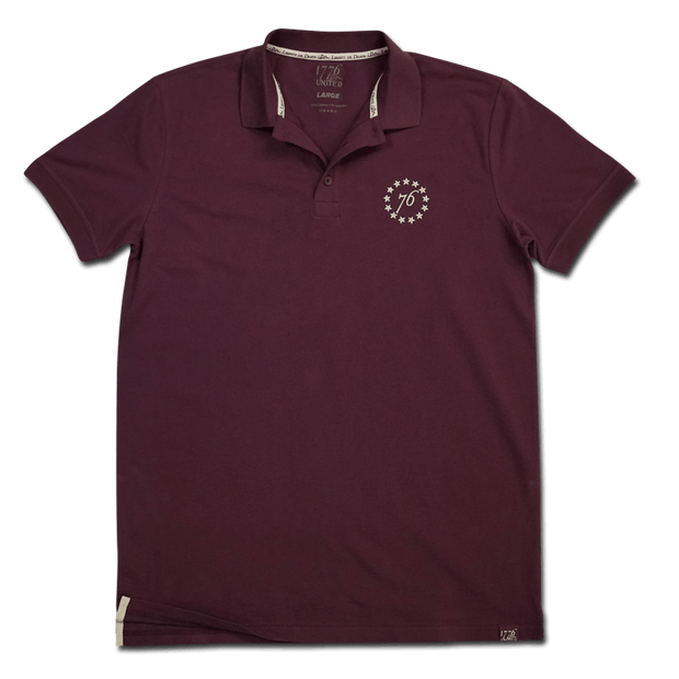 1776 United® Signature Polo - Purple