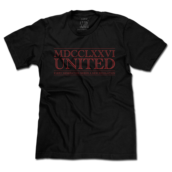 1776 United® Numerals Logo Tee - Black