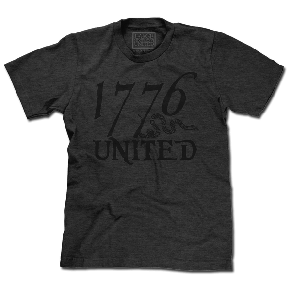 1776 United® Logo Tee - Blacked Out