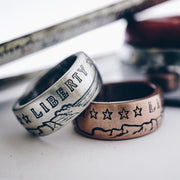 1776 United® Incuse Indian Ring