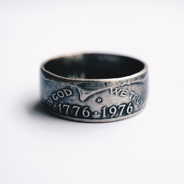 1776 United® Bicentennial Half Dollar Ring
