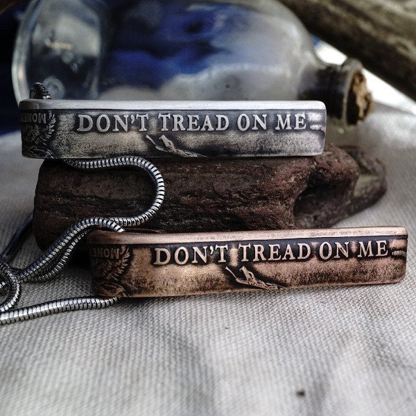 1776 United® Don't Tread On Me Necklace