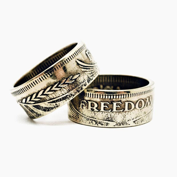 1776 United® Freedom Coin Ring