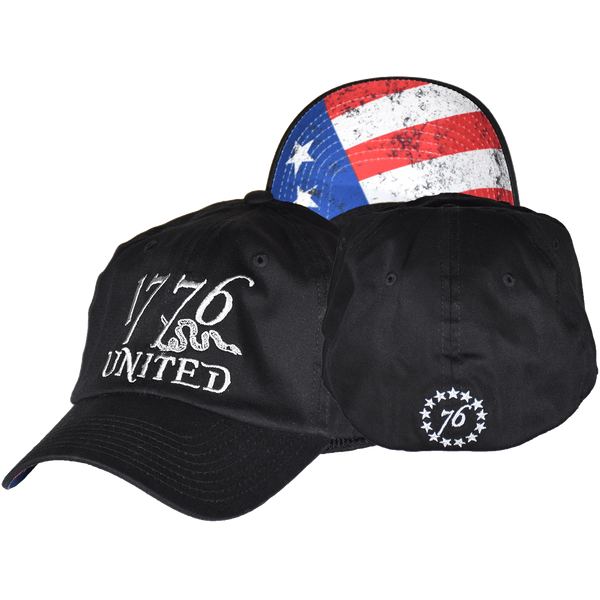 1776 United® Logo Flexfit Betsy Ross Edition - CURVED BILL
