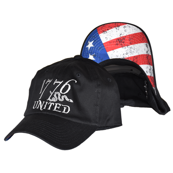 1776 United® Logo Snapback Betsy Ross Edition - CURVED BILL