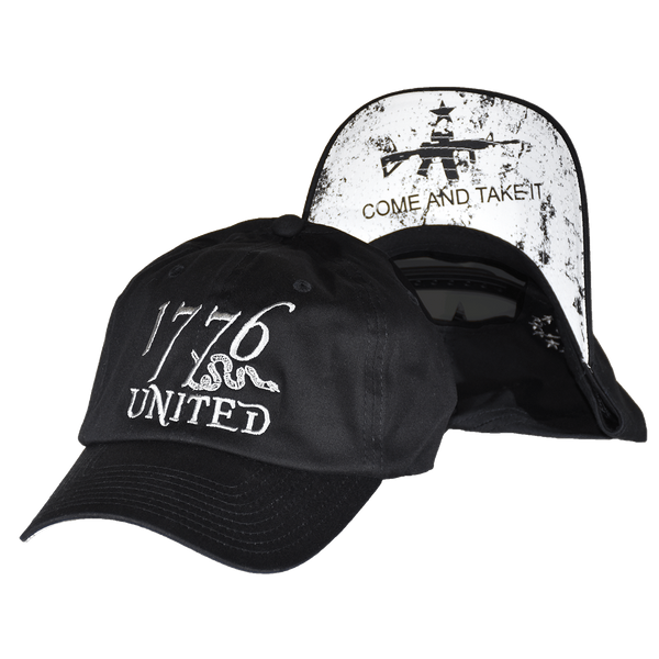 1776 United® Logo Snapback Come and Take it Edition - CURVED BILL