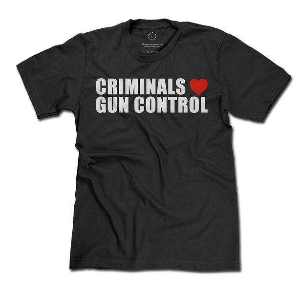 Criminals Love Gun Control
