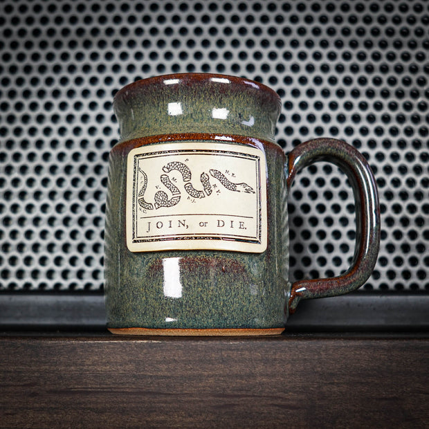 Join or Die Tankard