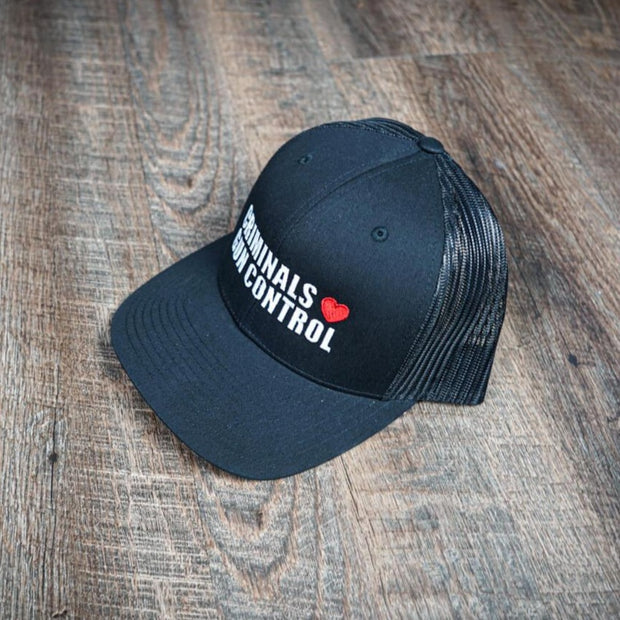 Criminals Love Gun Control Hat