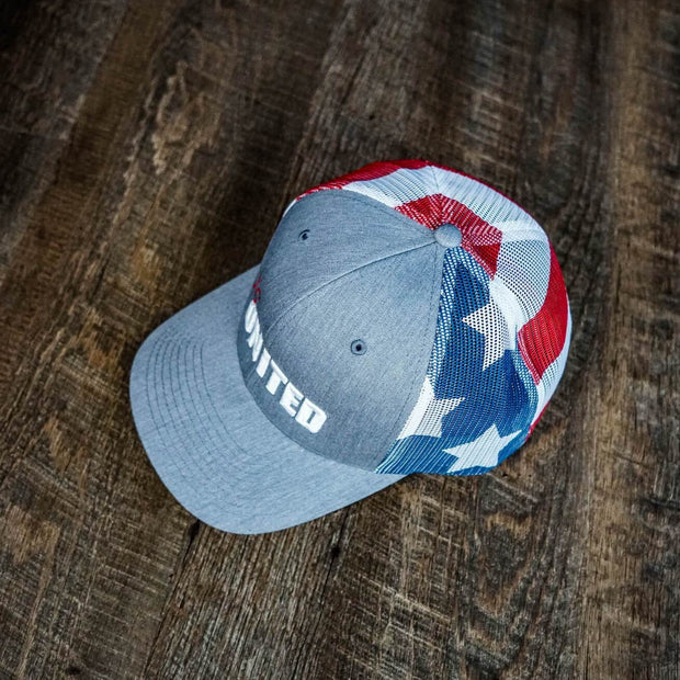 76 UNITED Flag Mesh Hat
