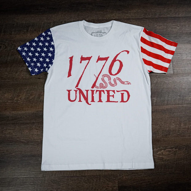 1776 United® Logo Tee - Flag Sleeves (LIMITED)